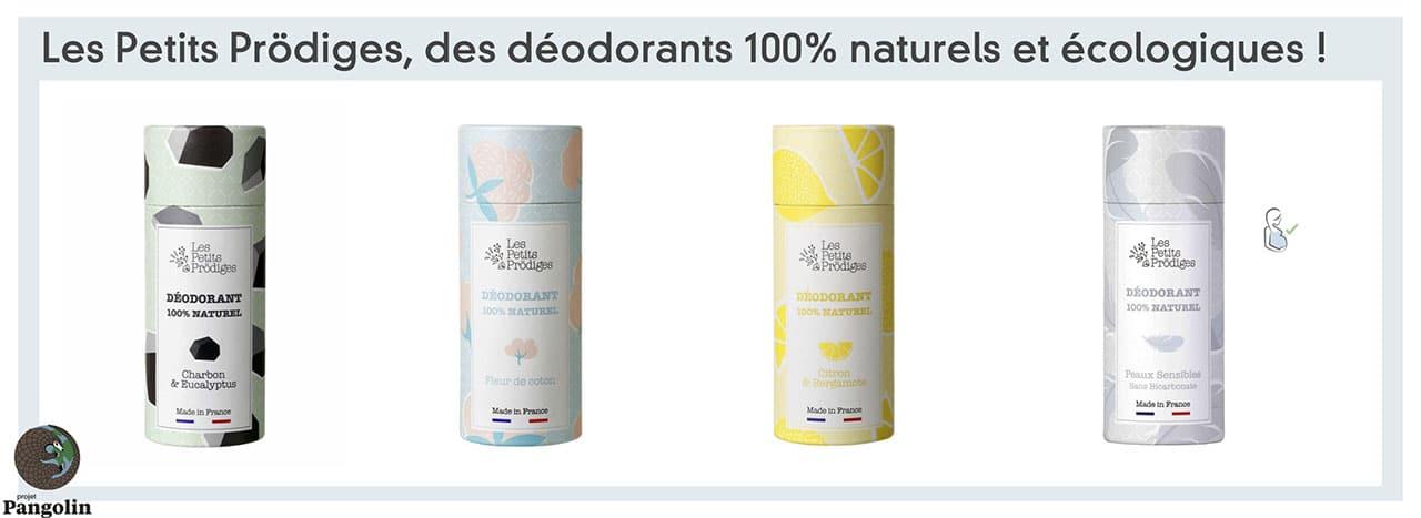 Déodorant classique naturel et sans danger