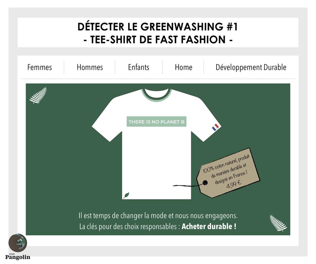 Exemple de greenwashing et green marketing